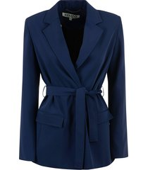kenzo belted tailored jacket