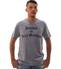 camiseta mamonas assassinas los santos mescla - kanui