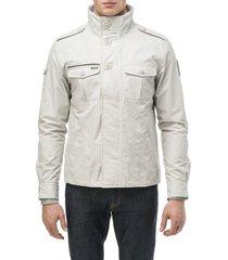 men's nobis admiral shirt jacket, size x-large - grey