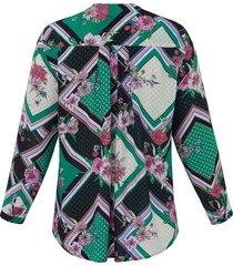 blouse van via appia due multicolour