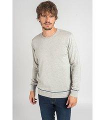 sweater gris oxford polo club roland