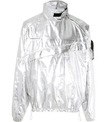 piet jaqueta anorak metalizada - ll0 prata