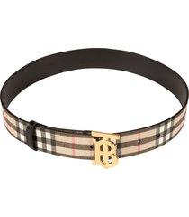 burberry non reversible belt