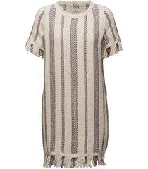 baha woven fringe dress