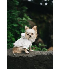 bluza z kapturem w serduszka dla psa
