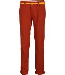 linnen dept broek - tough - henna kleur