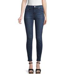 hudson women's blair high-rise super skinny jeans - marrakech - size 27 (4)