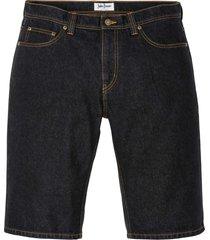 bermuda in jeans regular fit (nero) - john baner jeanswear