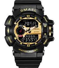 smael orologi da uomo cronografo luminoso orologio digitale impermeabile orologio militare