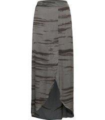 noora knälång kjol grå rabens sal r