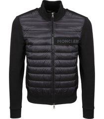 moncler moncler black cardigan