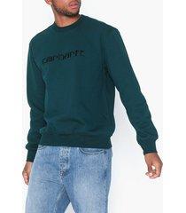 carhartt wip carhartt sweat tröjor blue/black