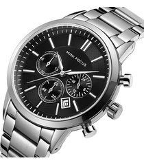 reloj mini focus mf0188g-3 para hombre-plata