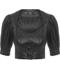blusa feminina emily - preto