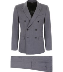 dolce & gabbana wool and silk suit