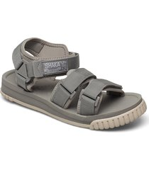 neo bungy shoes summer shoes sandals silver shaka