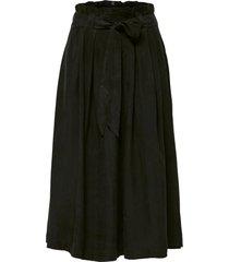 middellange rok high-waist