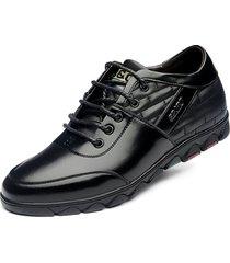cuero zapatos oxfords hombres zapatos de mocasines suaves