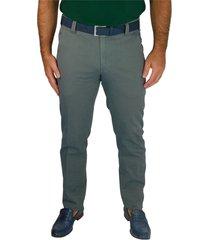 pantalone microfantasia regular fit bonn
