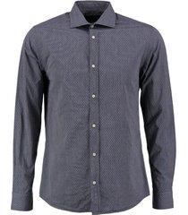 jack & jones blauw slim fit overhemd valt kleiner