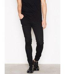 dr denim leroy jeans black