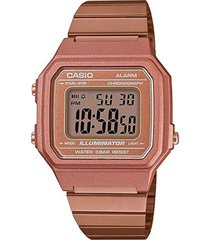 reloj digital cobre casio