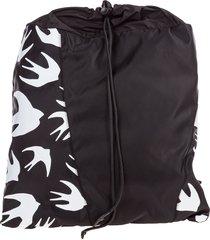 mcq alexander mcqueen swallow backpack
