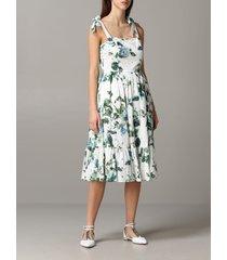 blumarine dress blumarine dress with floral pattern
