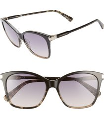 women's longchamp le pliage 54mm butterfly sunglasses -