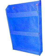 revisteiro prateleira montessoriano organibox azul - azul - dafiti