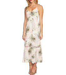 soft palms maxi dress