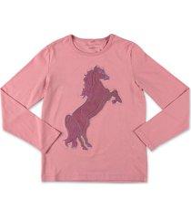 ''horse'' jersey t-shirt