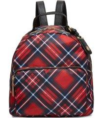 tommy hilfiger julia plaid backpack