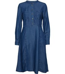 opaline dr jurk knielengte blauw part two