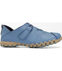 mocassino in pelle (blu) - bpc selection