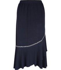 kjol m. collection marinblå