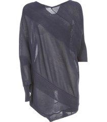 antonio marras sweater 3/4s asymmetric