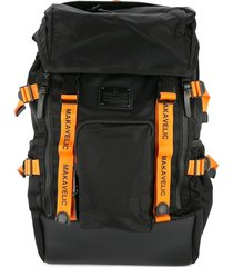 makavelic limited edition timon flare backpack - black
