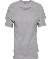 2-pack crew neck t-shirts short-sleeved grå bread & boxers