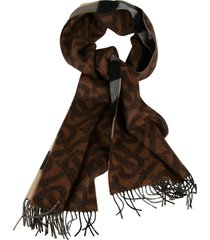 burberry reversible cashmere scarf