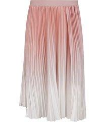 agnona pink midi skirt