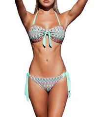 bikini admas hamptons 2-delige bandeau bikiniset