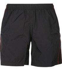 alexander mcqueen side logo shorts