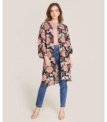 chaqueta floral