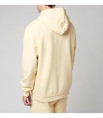 holzweiler men's fleek pullover hoodie - light yellow - xl