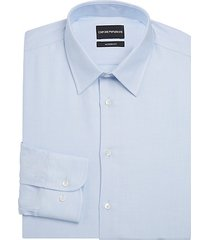 modern-fit tonal dot dress shirt