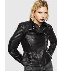 chaqueta l ige jacket negro diesel