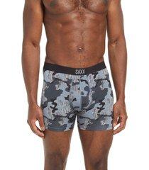 men's saxx vibe boxer briefs, size medium - grey