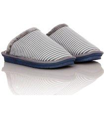 slippers furry heat thm unisex gris