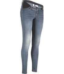 jeans prémaman adatti a tutta la gravidanza (blu) - bpc bonprix collection